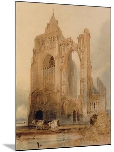 Croyland Abbey, Crowland-John Sell Cotman-Mounted Giclee Print