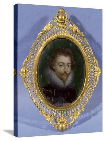 Miniature of James Hepburn, Earl of Bothwell (C.1537-78)--Stretched Canvas Print
