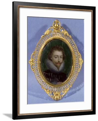 Miniature of James Hepburn, Earl of Bothwell (C.1537-78)--Framed Art Print