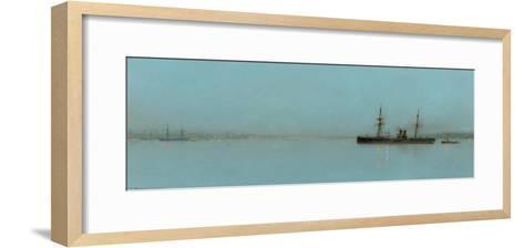 Port Light-John Atkinson Grimshaw-Framed Art Print
