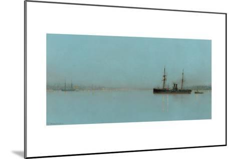 Port Light-John Atkinson Grimshaw-Mounted Giclee Print