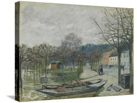 The Flood at Port-Marly, 1876-Alfred Sisley-Stretched Canvas Print