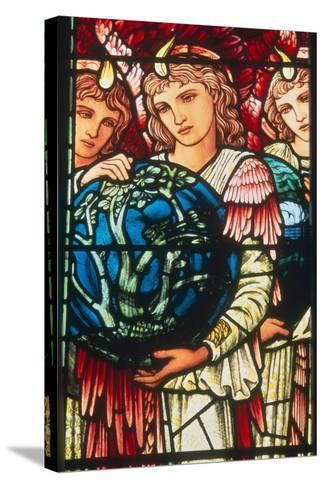 Angels of Creation: the Third Day, C.1890-Edward Burne-Jones-Stretched Canvas Print