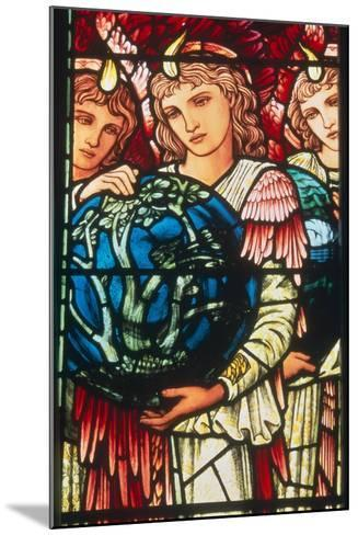 Angels of Creation: the Third Day, C.1890-Edward Burne-Jones-Mounted Giclee Print