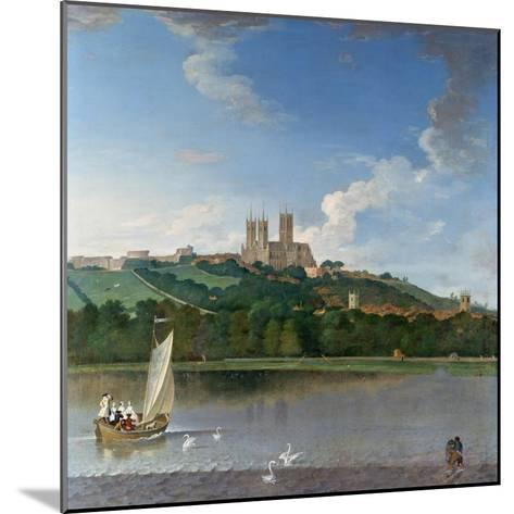 Lincoln from the Brayford Pool-Joseph Baker-Mounted Giclee Print