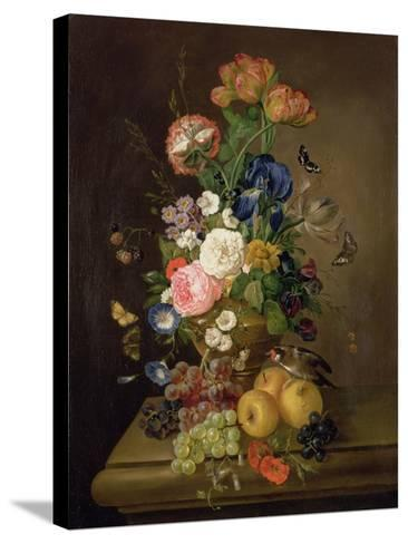 Vase of Flowers-Mary Moser-Stretched Canvas Print