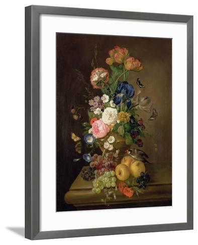 Vase of Flowers-Mary Moser-Framed Art Print