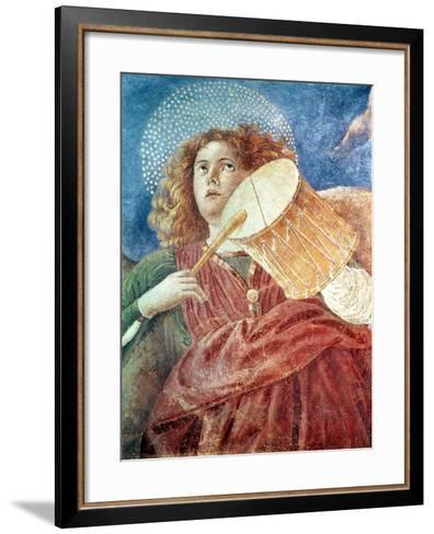 Musical Angel with Drum-Melozzo Da Forli-Framed Art Print