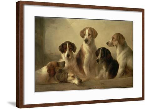 Hounds-Edward Robert Smythe-Framed Art Print