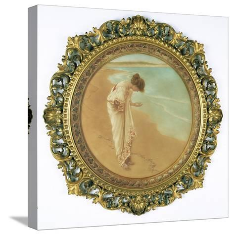 The Sea Hath its Pearls-William Henry Margetson-Stretched Canvas Print