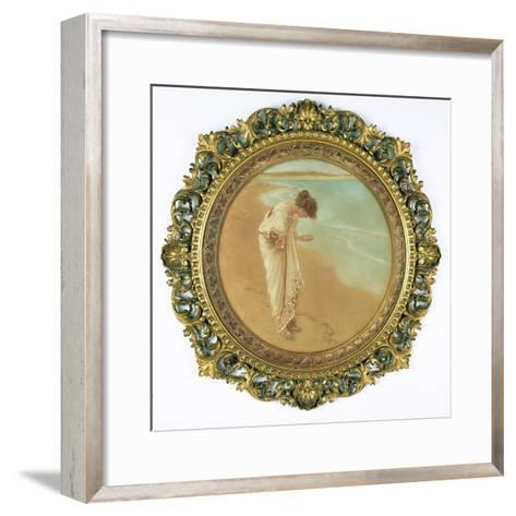 The Sea Hath its Pearls-William Henry Margetson-Framed Art Print