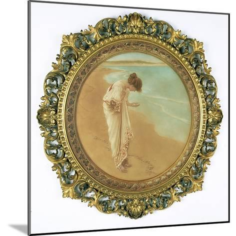 The Sea Hath its Pearls-William Henry Margetson-Mounted Giclee Print