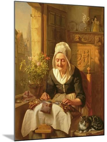 The Old Lacemaker, 1844-J^l^ Dyckmans-Mounted Giclee Print