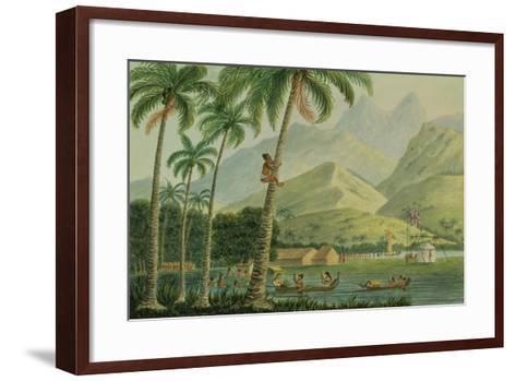 The Observatory, Point Venus, Otahytey, 1792-Captain George Tobin-Framed Art Print