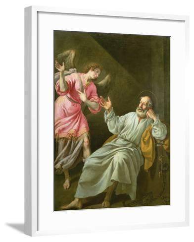 St. Peter's Release from Prison-Felix Castello-Framed Art Print