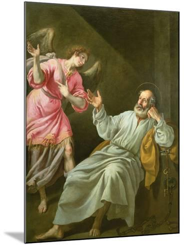 St. Peter's Release from Prison-Felix Castello-Mounted Giclee Print