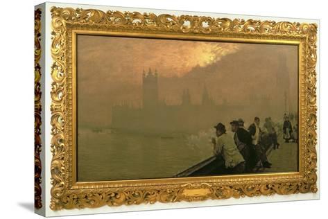 Westminster, 1878-Giuseppe De Nittis-Stretched Canvas Print