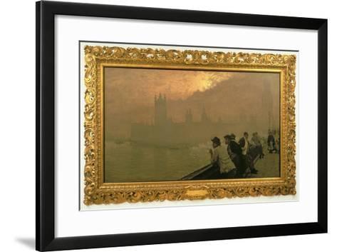 Westminster, 1878-Giuseppe De Nittis-Framed Art Print