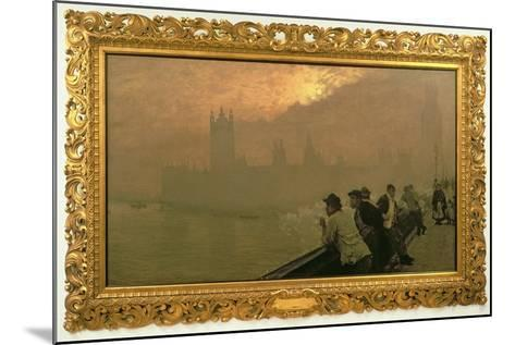 Westminster, 1878-Giuseppe De Nittis-Mounted Giclee Print