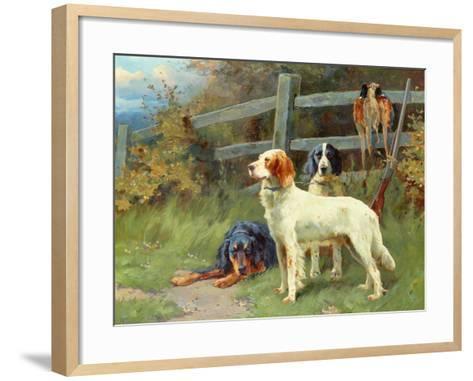 By the Day's Bag-Alfred Duke-Framed Art Print
