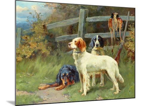 By the Day's Bag-Alfred Duke-Mounted Giclee Print