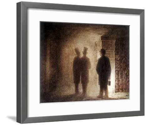 """Paris Catacombs, One of the """"Pictures at an Exhibition""""-Viktor Aleksandrovich Gartman-Framed Art Print"""