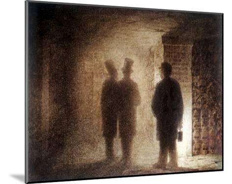 """Paris Catacombs, One of the """"Pictures at an Exhibition""""-Viktor Aleksandrovich Gartman-Mounted Giclee Print"""
