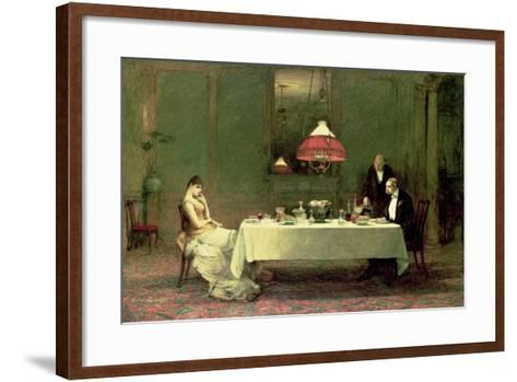 The Marriage of Convenience, 1883-William Quiller Orchardson-Framed Art Print