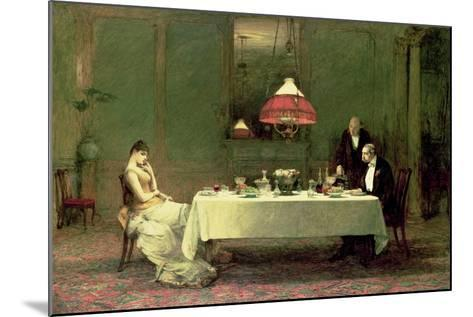 The Marriage of Convenience, 1883-William Quiller Orchardson-Mounted Giclee Print