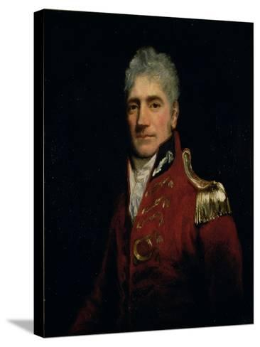 Possibly a Portrait of Major General Lachlan Macquarie (1761-1824), Governor of New South Wales…-John Opie-Stretched Canvas Print