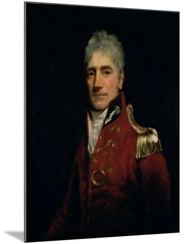 Possibly a Portrait of Major General Lachlan Macquarie (1761-1824), Governor of New South Wales…-John Opie-Mounted Giclee Print