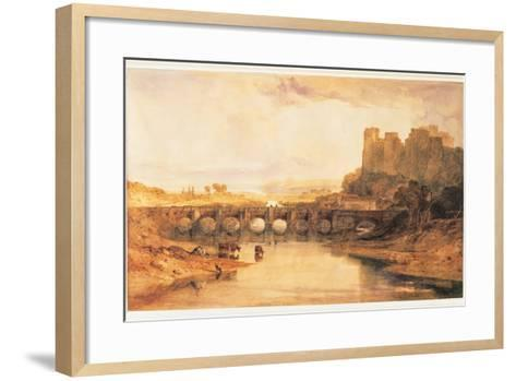 Ludlow Castle, 1800-J^ M^ W^ Turner-Framed Art Print