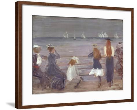 Watching Cowes Regatta, 1892-Philip Wilson Steer-Framed Art Print