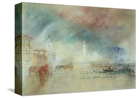 View of Venice from La Giudecca-J^ M^ W^ Turner-Stretched Canvas Print
