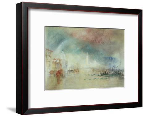 View of Venice from La Giudecca-J^ M^ W^ Turner-Framed Art Print