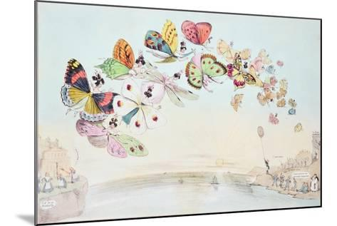 """""""E-Migration, or a Flight of 'Fair' Game"""", a Cartoon Satirising the Encouragement of Unmarried…--Mounted Giclee Print"""
