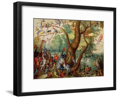 Concert of Birds-Jan Van, The Elder Kessel-Framed Art Print
