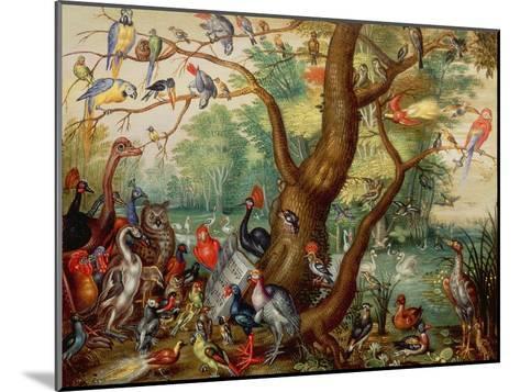 Concert of Birds-Jan Van, The Elder Kessel-Mounted Giclee Print