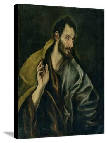 The Apostle Thomas-El Greco-Stretched Canvas Print