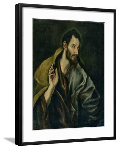 The Apostle Thomas-El Greco-Framed Art Print