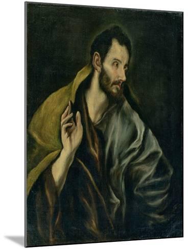 The Apostle Thomas-El Greco-Mounted Giclee Print