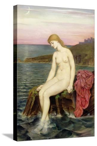 The Little Sea Maid-Evelyn De Morgan-Stretched Canvas Print