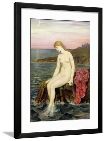 The Little Sea Maid-Evelyn De Morgan-Framed Art Print