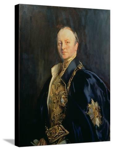 George Nathaniel, Marquis Curzon of Kedleston (1859-1925), 1890s T2-John Singer Sargent-Stretched Canvas Print