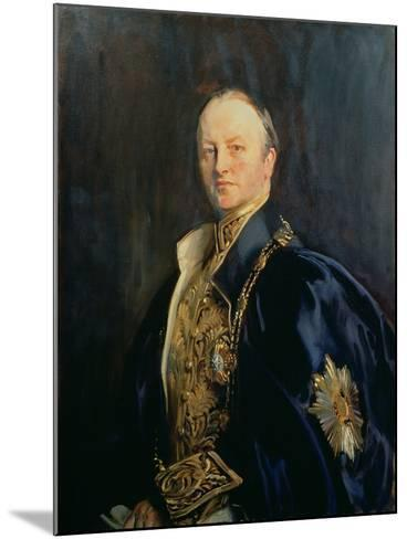 George Nathaniel, Marquis Curzon of Kedleston (1859-1925), 1890s T2-John Singer Sargent-Mounted Giclee Print