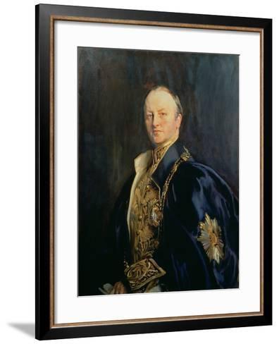 George Nathaniel, Marquis Curzon of Kedleston (1859-1925), 1890s T2-John Singer Sargent-Framed Art Print