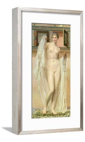 A Wardrobe, 1867-Albert Joseph Moore-Framed Art Print