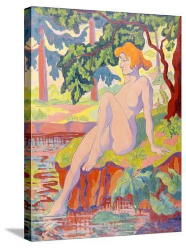 The Bather, 1898-Paul Ranson-Stretched Canvas Print