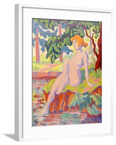 The Bather, 1898-Paul Ranson-Framed Art Print