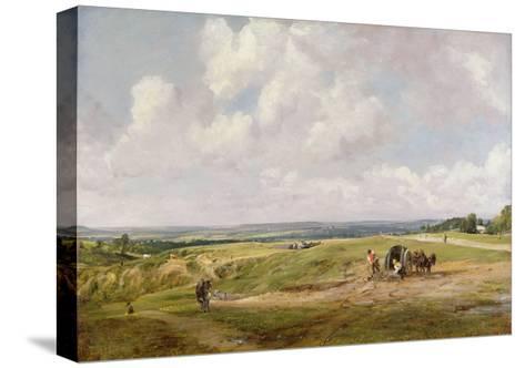 Hampstead Heath, C.1820-John Constable-Stretched Canvas Print